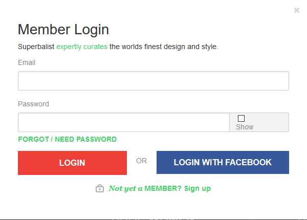 superbalist-login-modal